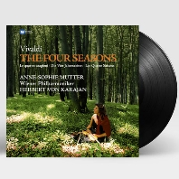 THE FOUR SEASONS/ ANNE-SOPHIE MUTTER, HERBERT VON KARAJAN [LP] [비발디: 사계 - 소피 무터 & 카라얀]