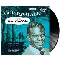 NAT KING COLE - UNFORGETTABLE [LP]