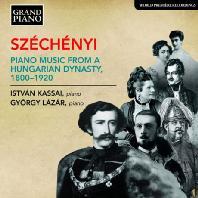 PIANO MUSIC FROM A HUNGARIAN DYNASTY 1800-1920/ GYORGY LAZAR, ISTVAN KASSAI [19세기 헝가리 세체니 가문의 피아노 음악]