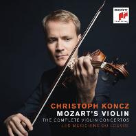 THE COMPLETE VIOLIN CONCERTOS/ CHRISTOPH KONCZ [모차르트: 바이올린 현주곡 전곡집 - 크리스토프 콘츠]