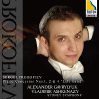 "PIANO CONCERTOS NO.1, 2 & 4 ""LEFT HAND""/ ALEXANDER GAVRYLYUK, VLADIMIR ASHKENAZY [SACD HYBRID] [프로코피에프: 피아노 협주곡 1, 2번, 왼손을 위한 피아노 협주곡 4번 - 가브릴류크, 아쉬케나지]"