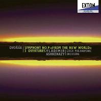 "\SYMPHONY NO.9 ""FROM THE NEW WORLD"", 3 OVERTUES/ VLADIMIR ASHKENAZY [드보르작: 교향곡 9번, 서곡 - 아쉬케나지]"