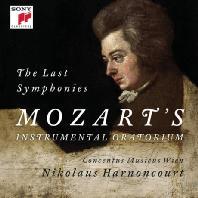 THE LAST SYMPHONIES/ NIKOLAUS HARNONCOURT [모차르트: 교향곡 39, 40 & 41번 - 니콜라우스 아르농쿠르]