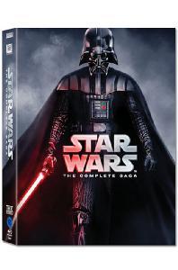 스타워즈 컴플리트 사가 [뉴패키지] [STAR WARS: THE COMPLETE SAGA] / 9disc/킵케이스/아웃박스 포함