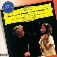 VIOLIN CONCERTOS NOS.3 & 5/ ANNE-SOPHIE MUTTER, HERBERT VON KARAJAN [THE ORIGINALS] [모차르트: 바이올린 협주곡 3, 5번]