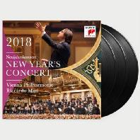 NEW YEAR`S CONCERT 2018/ RICCARDO MUTI [LP] [2018 빈 필하모닉 신년음악회 - 리카르도 무티]