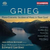 PIANO CONCERTO, INCIDENTAL MUSIC TO 'PEER GYNT'/ JEAN-EFFLAM BAVOUZET, EDWARD GARDNER [SACD HYBRID] [그리그: 피아노 협주곡, 페르귄트 - 바부제 & 가드너]