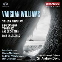 SINFONIA ANTARTICA/ ANDREW DAVIS [SACD HYBRID] [본 윌리엄스:  남극 교향곡, 2대의 피아노와 오케스트라를 위한 협주곡 외 - 데이비스]