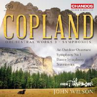 ORCHESTRAL WORKS 3 - SYMPHONIES/ JOHN WILSON [SACD HYBRID] [코플랜드: 관현악 작품 3집: 교향곡 - 존 윌슨]