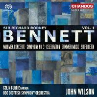ORCHESTRAL WORKS VOL.1/ JOHN WILSON [SACD HYBRID] [베넷: 마림바 협주곡, 교향곡 3번, 세레브레이션, 썸머 뮤직, 신포니에타]