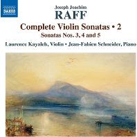 COMPLETE VIOLIN SONATAS VO.2/ LAURENCE KAYALEH, JEAN-FABIEN SCHNEIDER [라프: 바이올린 소나타 전곡 2집로렌스 카얄레]