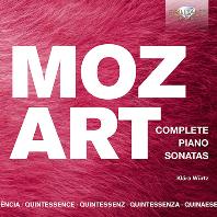 COMPLETE PIANO SONATAS/ KLARA WURTZ [모차르트: 피아노 소나타 전곡 - 클라라 뷔르츠]