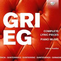 COMPLETE LYRIC PIECES, PIANO MUSIC/ HAKON AUSTBO [그리그: 서정 모음곡 전곡, 피아노 소나타, 홀베르크 모음곡 - 호콘 아우스트뵈]