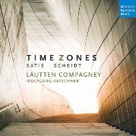 TIME ZONES/ LAUTTEN COMPAGNEY, WOLFGANG KATSCHNER [샤이트 & 사티: 타임 존 - 라우텐 콤파니,볼프강 카슈너]