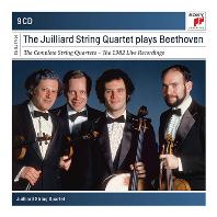 줄리어드 현악 사중주단이 연주하는 베토벤 현악사중주 전집 (1982년 라이브 레코딩 9CD - 두번째 전집)