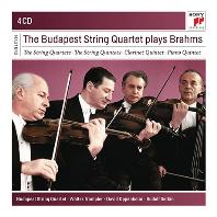 부다페스트 현악사중주단이 연주하는 브람스 (4CD)