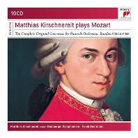 THE COMPLETE ORIGINAL PIANO CONCERTOS/ MATTHIAS KIRSCHNEREIT [SONY MASTERS] [마티아스 키르슈네라이트가 연주하는 모차르트 피아노 협주곡 전집]