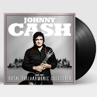 JOHNNY CASH AND THE ROYAL PHILHARMONIC ORCHESTRA [LP]
