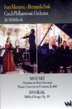 MOZART PIANO CONCERTO K.466/ DVORAK BIBLICAL SONGS/ IVAN MORAVEC/ BERNARDA FINK/ <!HS>JIRI<!HE> BELOHLAVEK