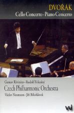 CELLO CONCERTO/ PIANO CONCERTO/ VACLAV NEUMANN/ JIRI BELOHLAVEK