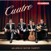 CUATRO [아쿠아렐 기타 사중주단: 4개의 기타를 위한 스페인 음악]