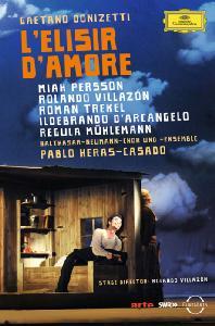 L`ELISIR D`AMORE/ ROLANDO VILLAZON, PABLO HERAS-CASADO [도니제티: 사랑의 묘약]