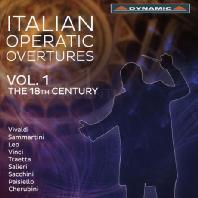 ITALIAN OPERATIC OVERTURES VOL.1: THE 18TH CENTURY [18세기 이탈리아 오페라 서곡]