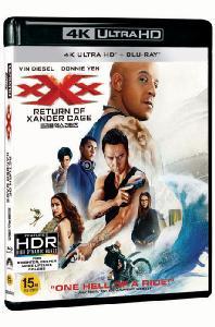 트리플 엑스 리턴즈 [4K UHD+BD] [한정판] [XXX: RETURN OF XANDER CAGE]