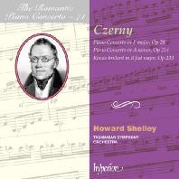 PIANO CONCERTOS/ HOWARD SHELLEY [THE ROMANTIC PIANO CONCERTO 71] [체르니: 피아노 협주곡]