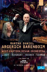 LIVE FROM THE BBC PROMS/ MARTHA ARGERICH, DANIEL BARENBOIM [2016 BBC프롬스: 아르헤리치와 바렌보임]