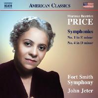 SYMPHONIES NOS.1 & 4/ JOHN JETER [플로렌스 프라이스: 교향곡 1, 4번]