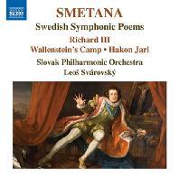 SWEDISH SYMPHONIC POEMS/ LEOS SVAROVSKY [스메타나: 스웨덴 교향시 작품집 - 리처드 3세, 발렌슈타인의 진영, 하콘 야를, 개선 교향곡]