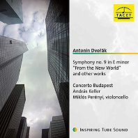 "SYMPHONY NO.9 ""FROM THE NEW WORLD"" AND OTHER WORKS/ ANDRAS KELLER, MIKLOS PERENYI [드보르작: 신세계 교향곡, 첼로와 오케스트라를 위한 작품집 - 미클로시 페레니]"
