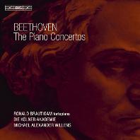THE PIANO CONCERTOS/ RONALD BRAUTIGAM, MICHAEL ALEXANDER WILLENS [SACD HYBRID] [베토벤: 피아노 협주곡 전곡 - 브라우티함]