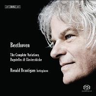 THE COMPLETE PIANO VARIATIONS, BAGATELLES, & CLAVIERSTUCKE/ RONALD BRAUTIGAM [SACD HYBRID] [베토벤: 피아노 변주곡, 바가텔 - 로날드 브라우티함]