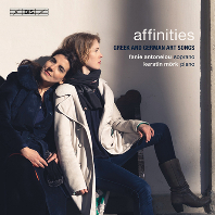 AFFINITIES: GREEK AND GERMAN ART SONGS/ FANIE ANTONELOU, KERSTIN MORK [SACD HYBRID] [그리스와 독일 예술에 관련된 가곡집 - 파니 안토넬루]