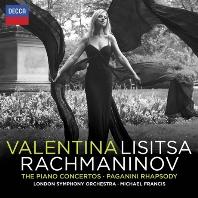 RACHMANINOV: THE PIANO CONCERTOS/ MICHAEL FRANCIS [발렌티나 리시차: 라흐마니노프 피아노 협주곡 전곡]