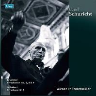 BRUCKNER & SCHUBERT: SYMPHONIES/ WIENER PHILHARMONIKER [180G LP] [칼 슈리히트: 빈 필하모닉 라이브 에디션] [한정반]