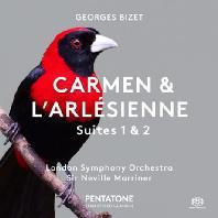 CARMEN & L'ARLESIENNE SUITES 1 & 2/ NEVILLE MARRINER [SACD HYBRID] [비제: <카르멘> & <아를의 여인> 서곡집]