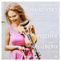 WORKS FOR VIOLIN & ORCHESTRA/ JULIA FISCHER, YAKOV KREIZBERG [SACD HYBRID] [차이코프스키: 바이올린 협주곡]