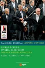 SALZBURG FESTIVAL OPENING CONCERT/ DANIEL BERENBOIM, <!HS>PIERRE<!HE> BOULEZ [2008년 잘츠부르크 페스티벌 개막콘서트]