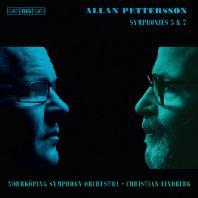 SYMPHONIES 5 & 7/ CHRISTIAN LINDBERG [SACD HYBRID] [앨런 페터슨: 교향곡 5 & 7번 - 린드베리]