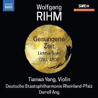 GESUNGENE ZEIT/ TIANWA YANG, DARRELL ANG [볼프강 림: 바이올린과 오케스트라를 위한 작품 2집 - 티안와 양]