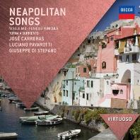 VARIOUS - NEAPOLITAN SONGS/ JOSE CARRERAS  GIUSEPPE DI STEFANO [VIRTUOSO]