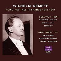 PIANO RECITALS IN FRANCE 1955-1961 [빌헬름 켐프: 프랑스 피아노 리사이틀]
