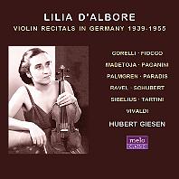 VIOLIN RECITALS IN GERMANY 1939-1955 [릴리아 달보레: 독일 바이올린 리사이틀]