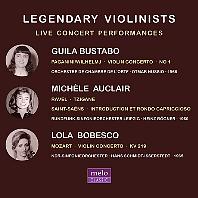 LEGENDARY VIOLINIST [전설적인 여성 바이올리니스트: 귈라 부스타보, 미셸 오클레르, 롤라 보베스코]