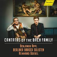 CANTATAS OF THE BACH FAMILY/ BENJAMIN APPL, REINHARD GOEBEL [바흐 가족의 칸타타: 벤야민 아플, 괴벨]