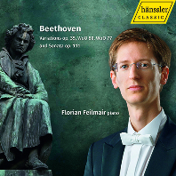 VARIATIONS OP.35 WOO 80, WOO 77 & SONATA OP.111/ FLORIAN FEILMAIR [베토벤: 영웅 변주곡, 피아노 소나타 32번 - 플로리안 파일마이어]