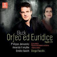 ORFEO ED EURIDICE/ PHILIPPE JAROUSSKY, DIEGO FASOLIS [글룩: 오르페오와 에우리디체 - 자루스키]